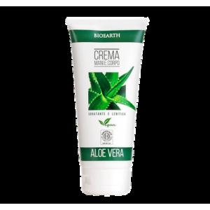 Bioearth Family Crema Mani e Corpo Aloe Vera 200 ml