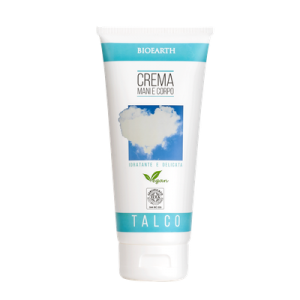 Bioearth Family Crema Mani e Corpo Talco 200 ml
