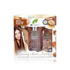 Organic Moroccan Argan Oil - Luxury Hair Therapy Gift Set