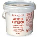 Acido Citrico Green Natural 2KG
