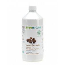 Balsamo capelli Karitè e Tea Tree BIO Greenatural 1000 ml / 250 ml