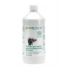 Shampoo capelli grassi e con forfora Green Natural 250 ml e 1lt