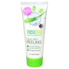 Peeling Rinfrescante Bio Menta e Aloe Vera