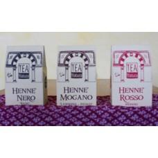 Henne' Rosso Indiano, Mogano, Nero (100 gr)