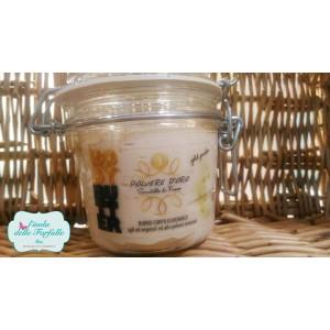 Burro Eudermico con Polvere Minerale Oro